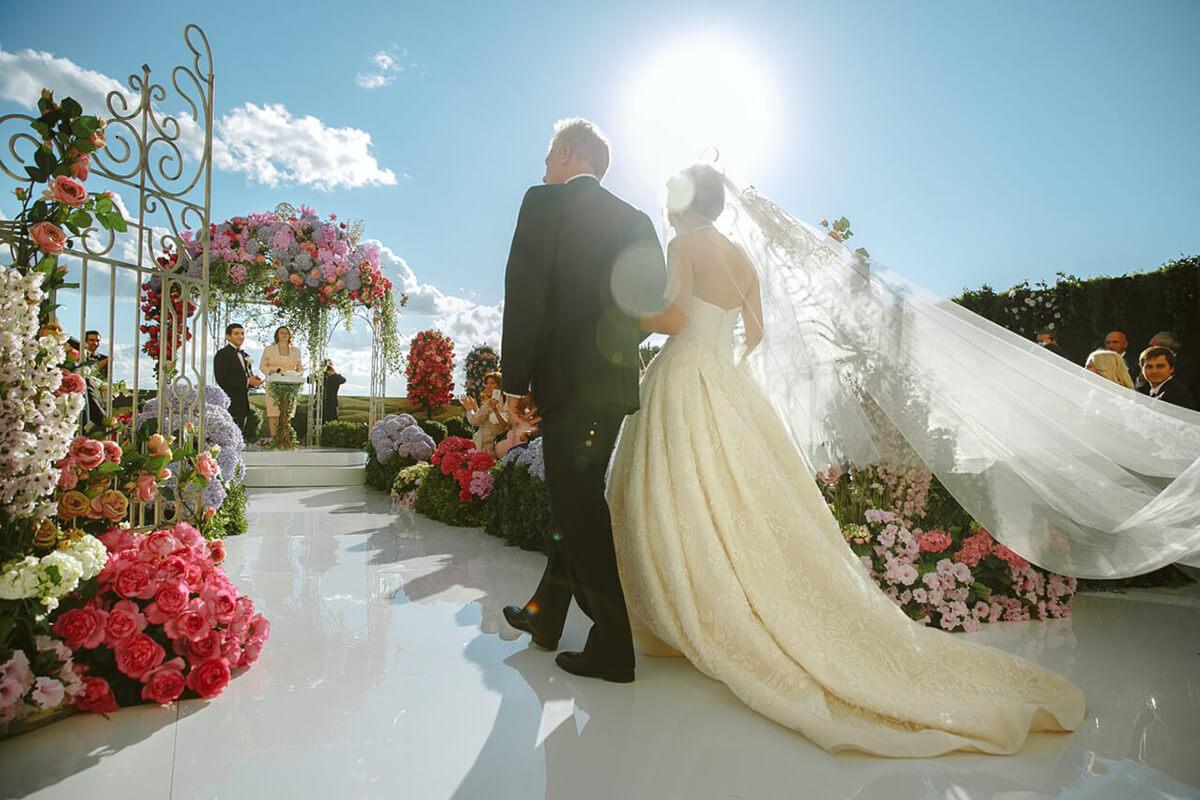 Пять способов, как сделать уникальную свадебную церемонию